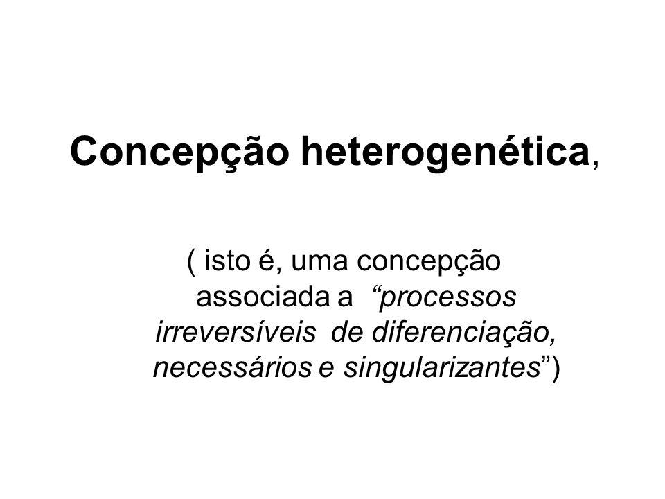 Concepção heterogenética,