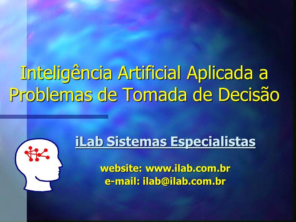 Inteligência Artificial Aplicada a Problemas de Tomada de Decisão