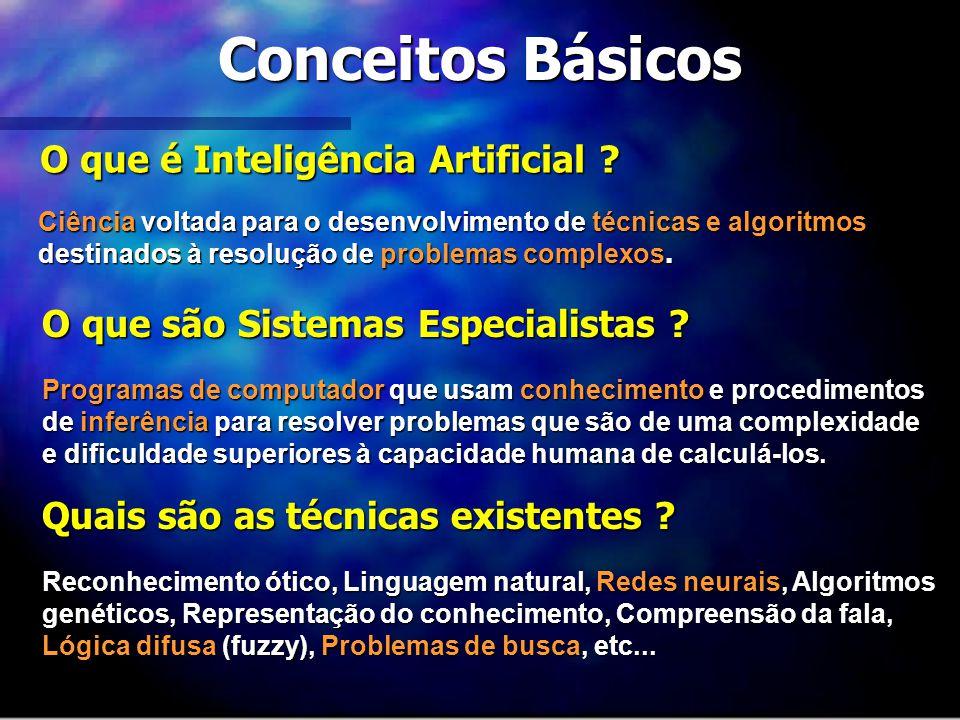 Conceitos Básicos O que é Inteligência Artificial