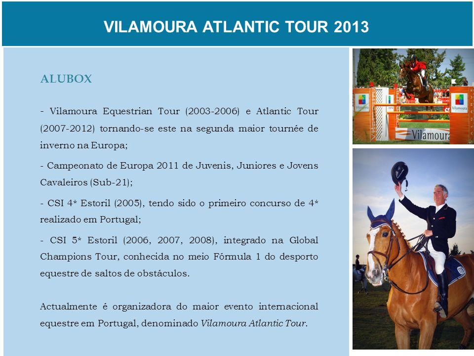 VILAMOURA ATLANTIC TOUR 2013