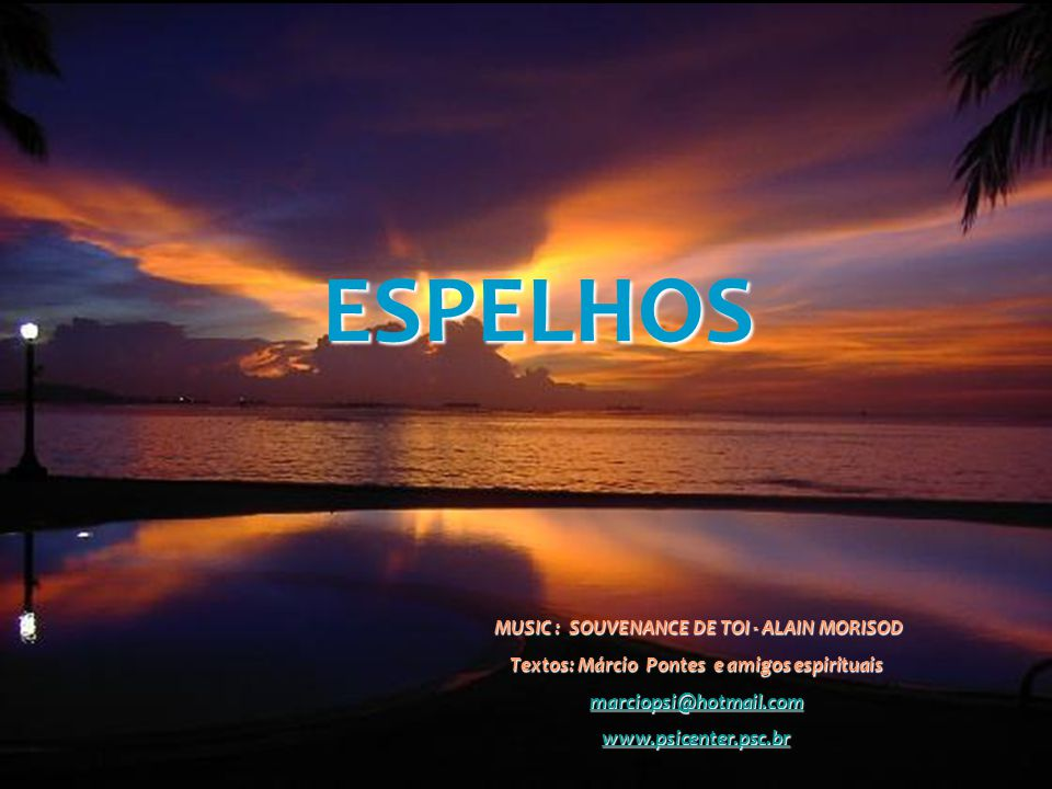 ESPELHOS MUSIC : SOUVENANCE DE TOI - ALAIN MORISOD