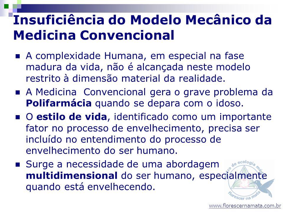 Insuficiência do Modelo Mecânico da Medicina Convencional