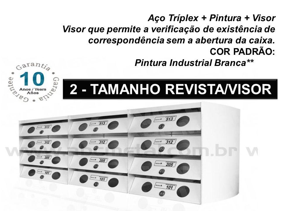 2 - TAMANHO REVISTA/VISOR