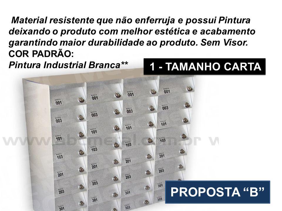 PROPOSTA B 1 - TAMANHO CARTA