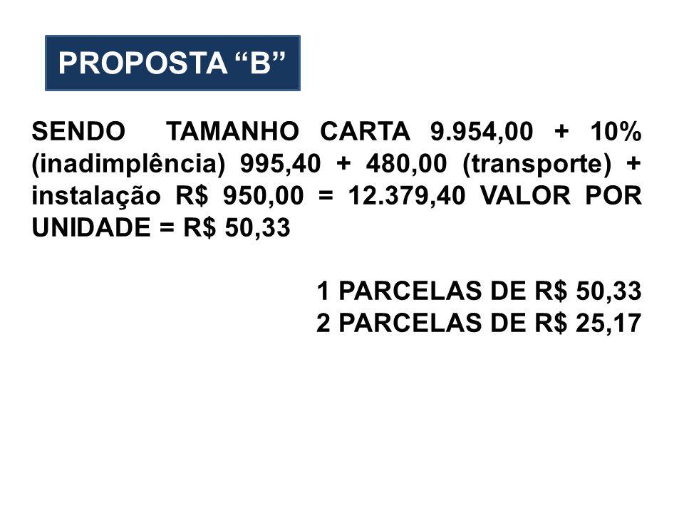 PROPOSTA B