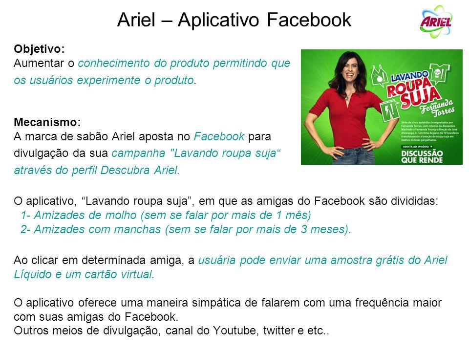 Ariel – Aplicativo Facebook