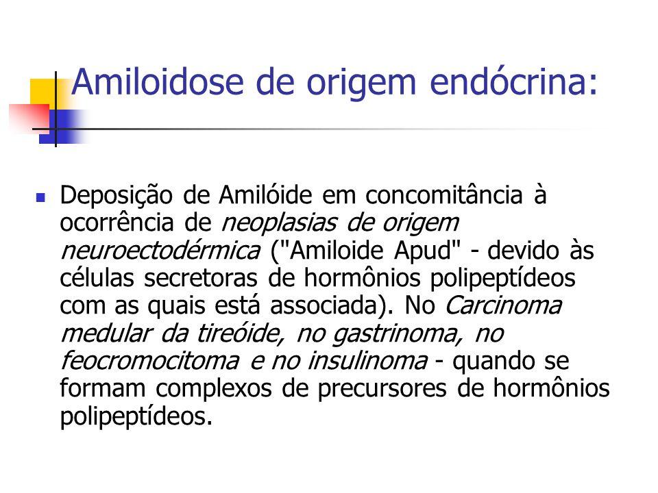 Amiloidose de origem endócrina: