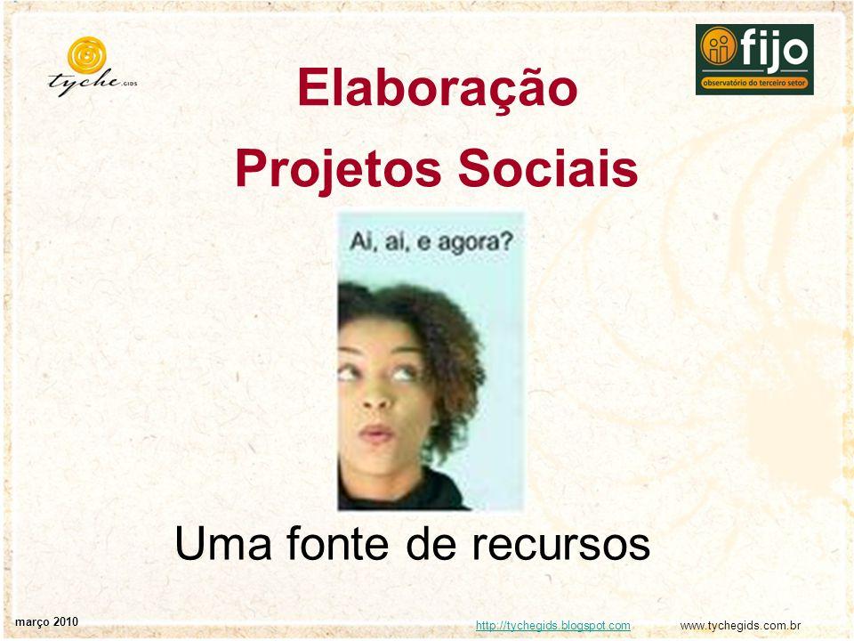 Elaboração Projetos Sociais