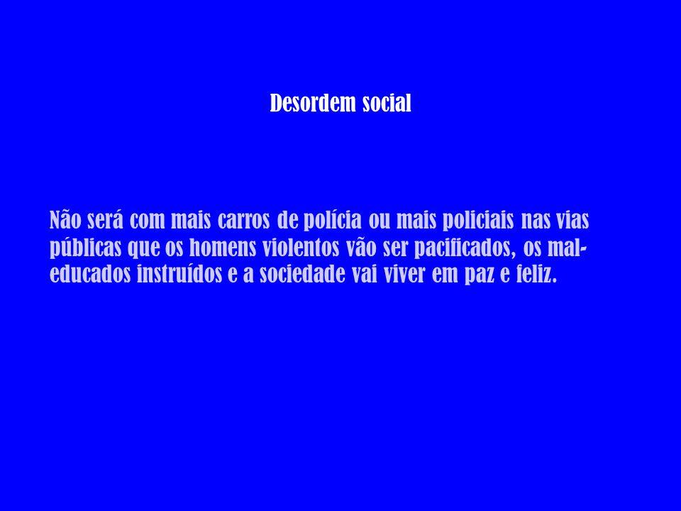 Desordem social