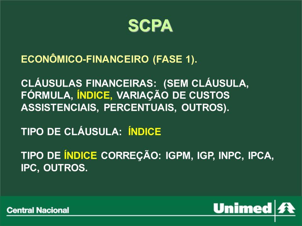 SCPA ECONÔMICO-FINANCEIRO (FASE 1).