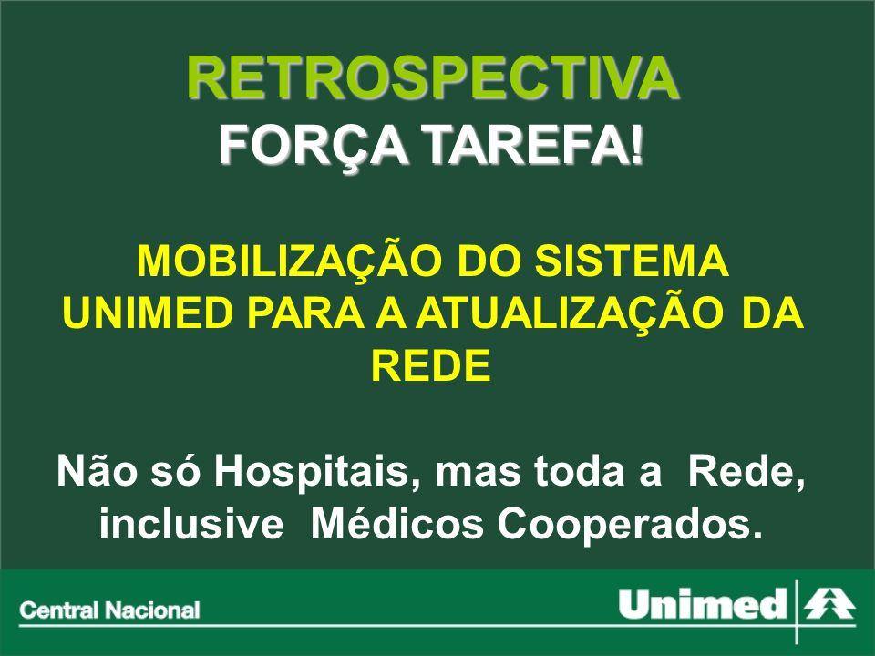 RETROSPECTIVA FORÇA TAREFA!
