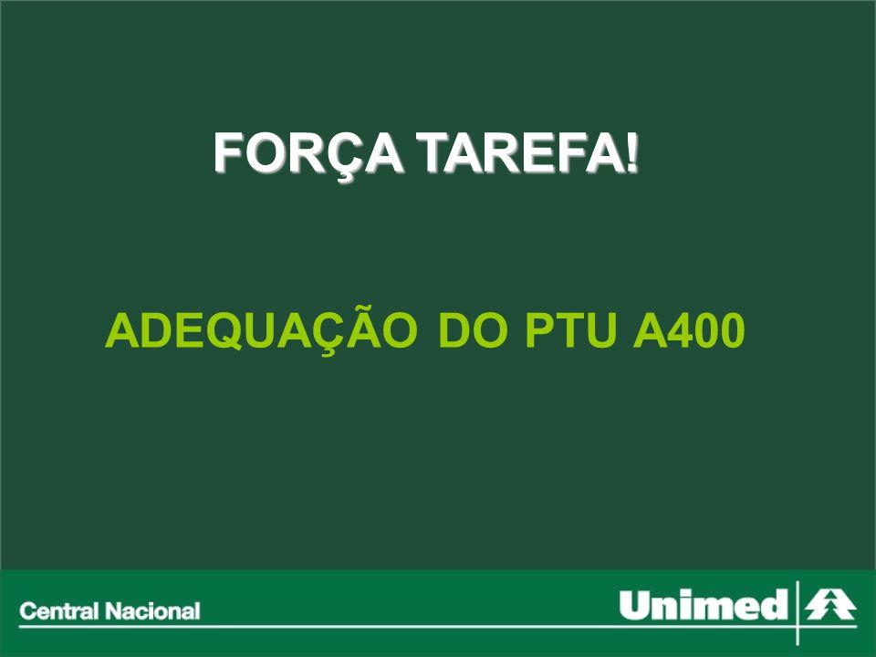 FORÇA TAREFA! ADEQUAÇÃO DO PTU A400