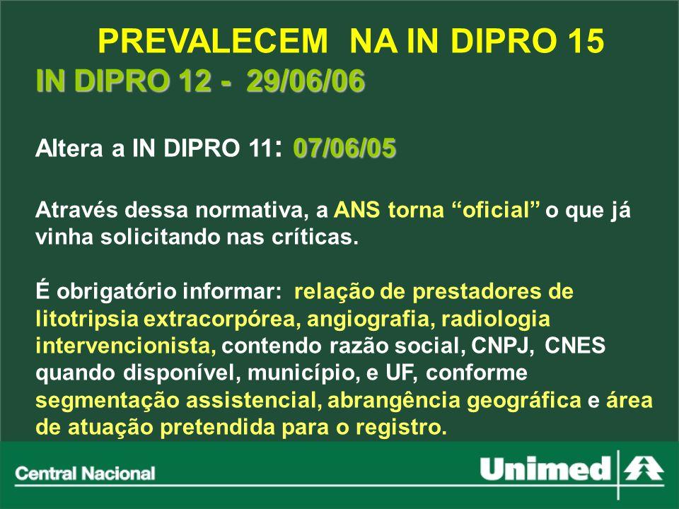 PREVALECEM NA IN DIPRO 15 IN DIPRO 12 - 29/06/06