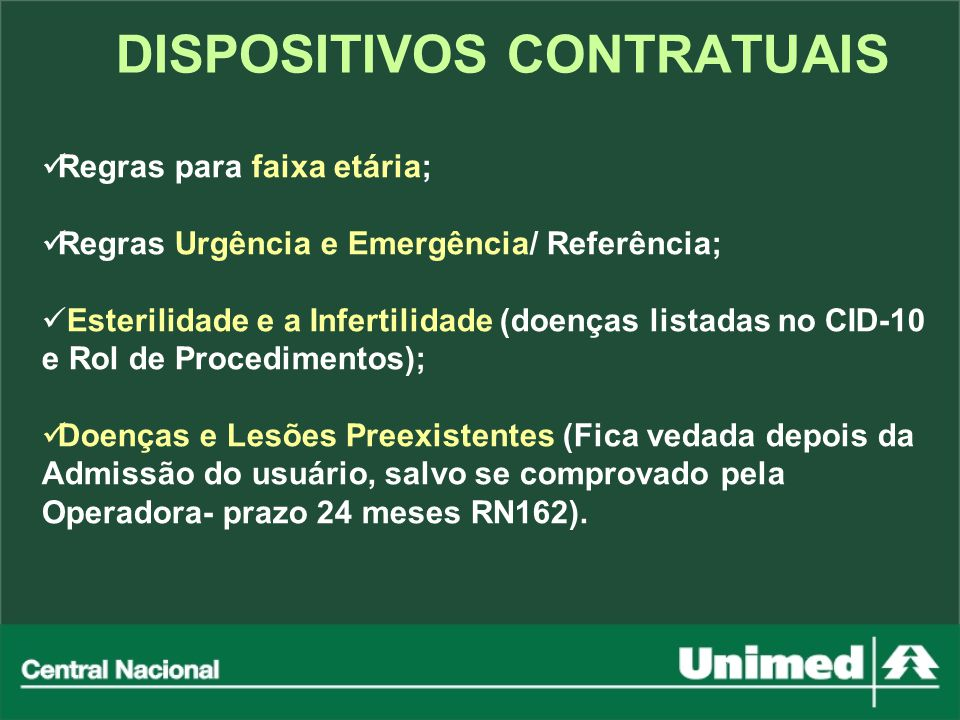 DISPOSITIVOS CONTRATUAIS