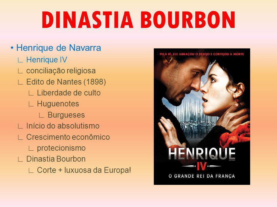 DINASTIA BOURBON • Henrique de Navarra ∟ Henrique IV