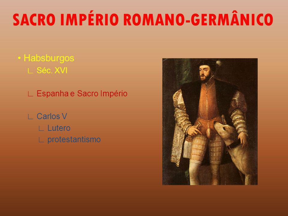 SACRO IMPÉRIO ROMANO-GERMÂNICO
