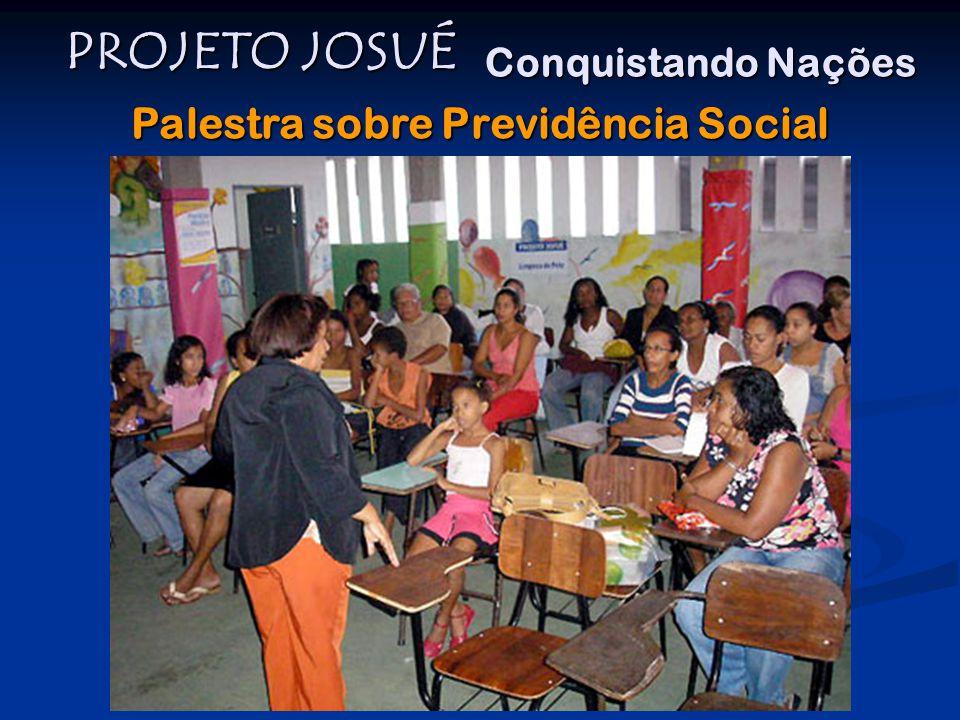 Palestra sobre Previdência Social