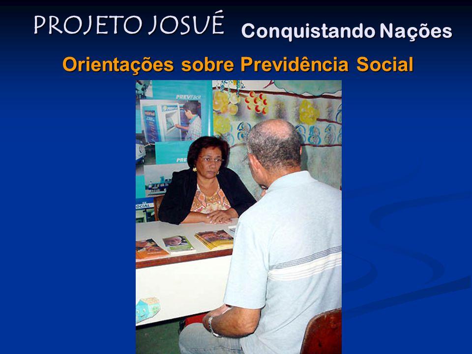 Orientações sobre Previdência Social