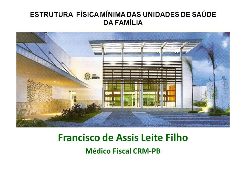 Francisco de Assis Leite Filho Médico Fiscal CRM-PB