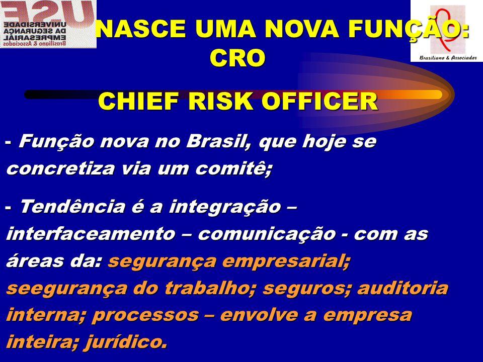 NASCE UMA NOVA FUNÇÃO: CRO