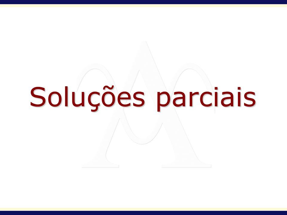 Soluções parciais