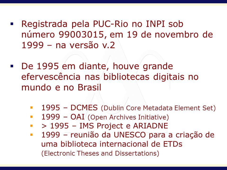 Registrada pela PUC-Rio no INPI sob