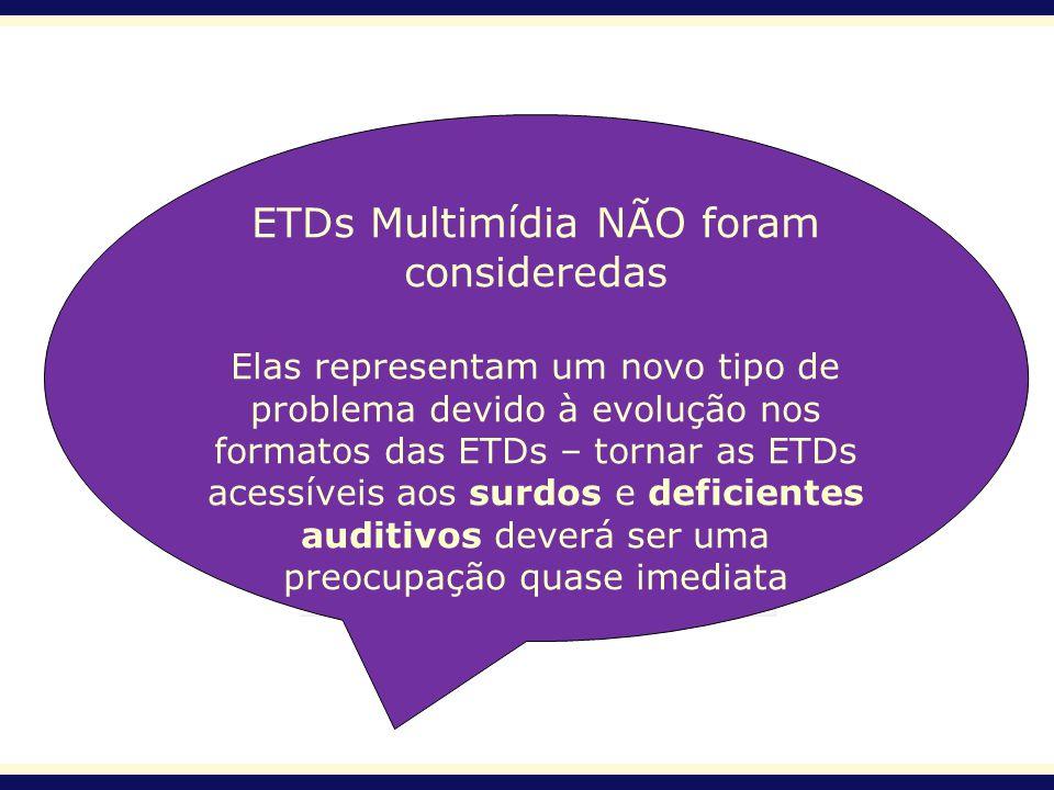 ETDs Multimídia NÃO foram consideredas