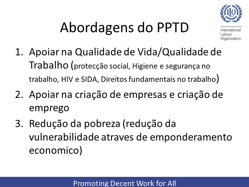 Abordagens do PPTD