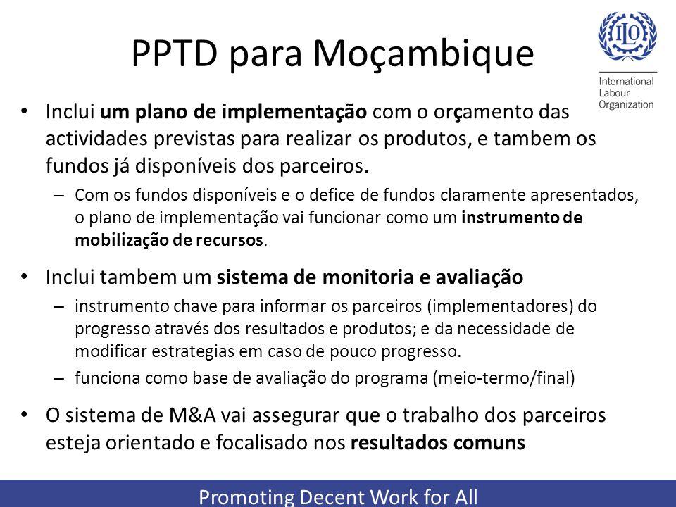 PPTD para Moçambique