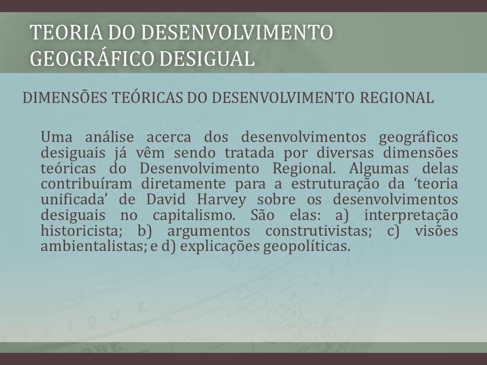 Teoria do desenvolvimento geográfico desigual