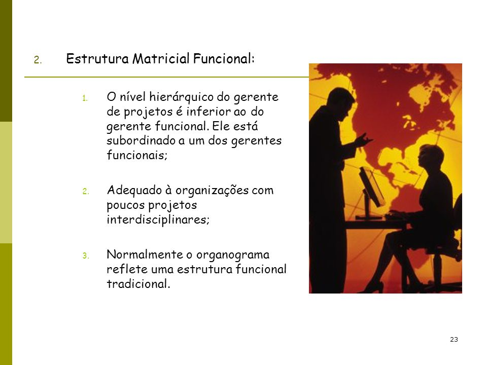 Estrutura Matricial Funcional: