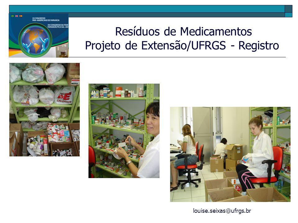 Projeto de Extensão/UFRGS - Registro