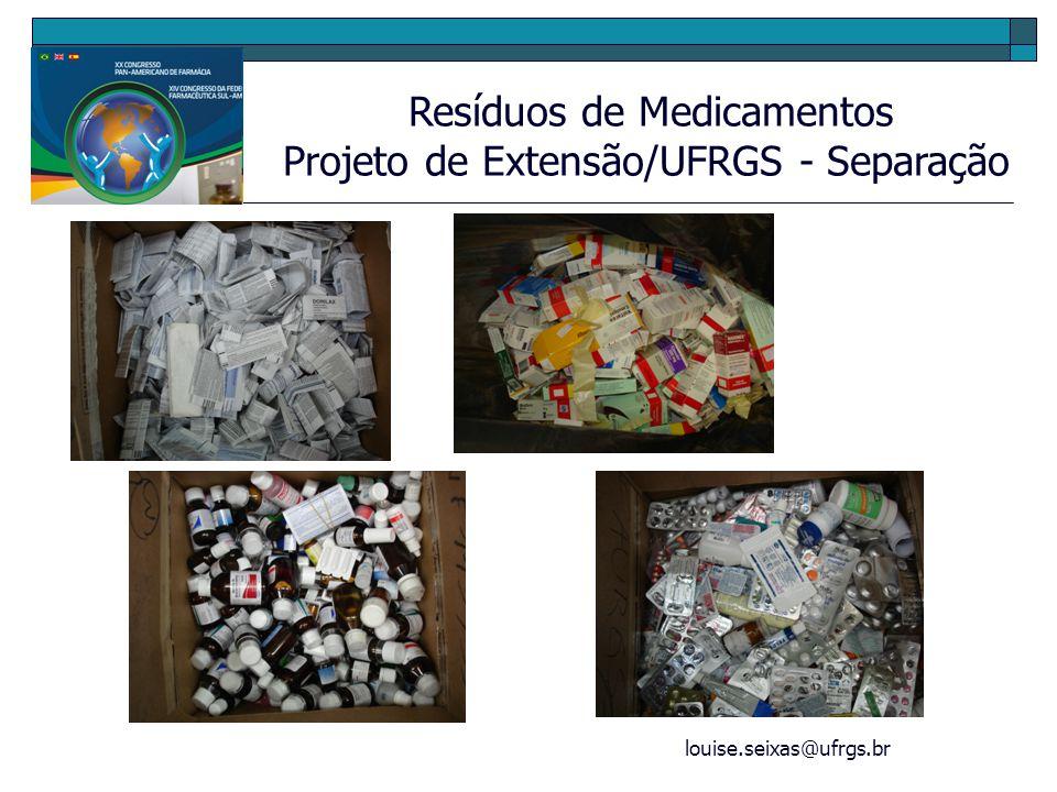 Projeto de Extensão/UFRGS - Separação