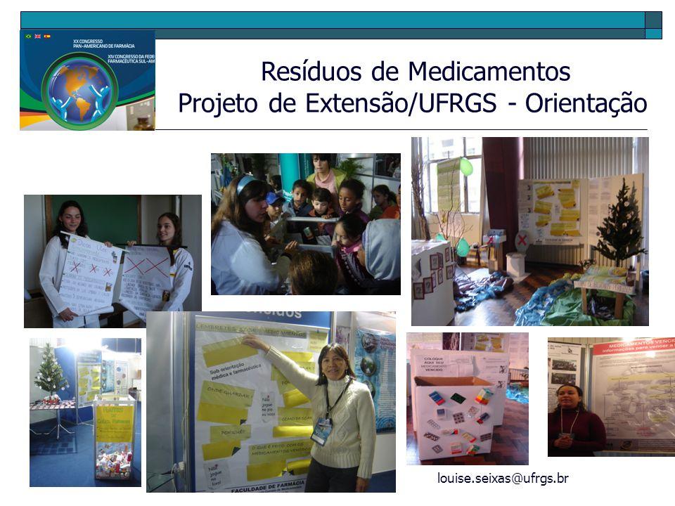 Projeto de Extensão/UFRGS - Orientação
