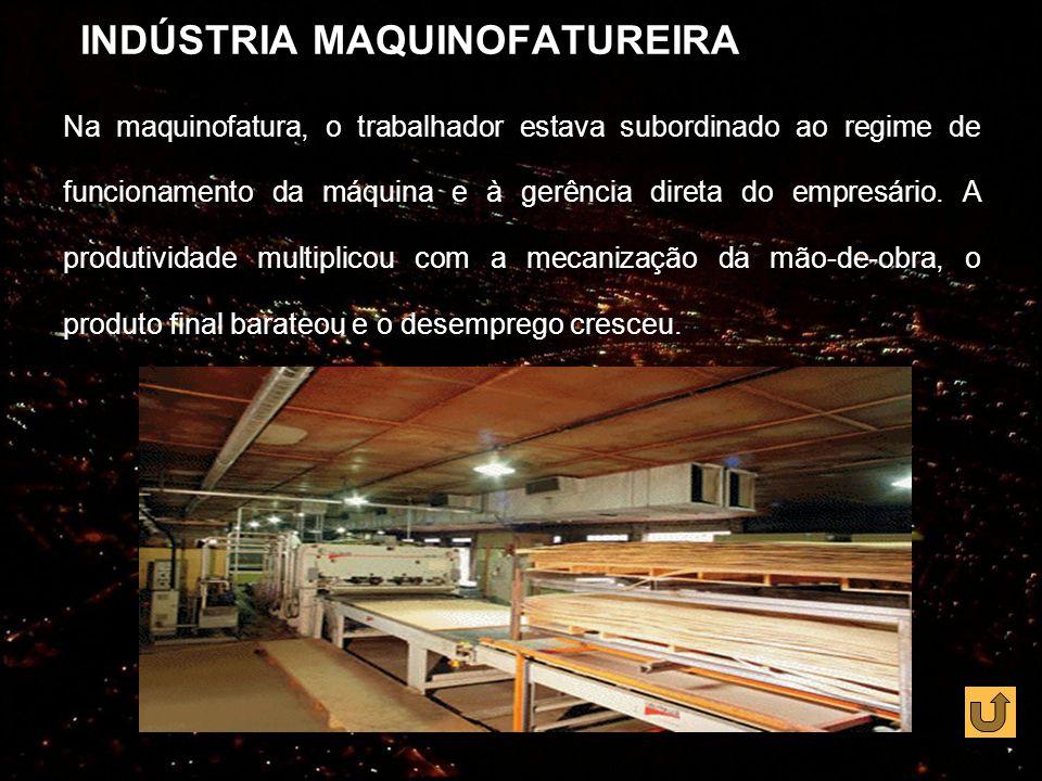INDÚSTRIA MAQUINOFATUREIRA