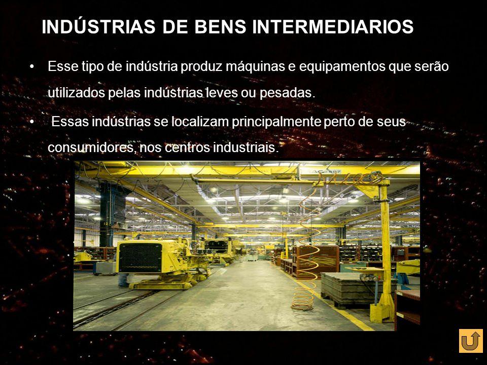 INDÚSTRIAS DE BENS INTERMEDIARIOS