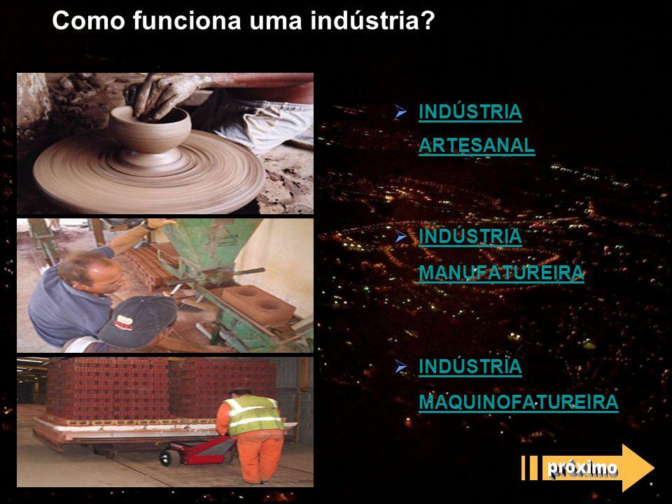 Como funciona uma indústria