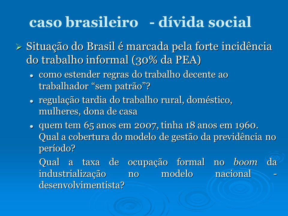 caso brasileiro - dívida social