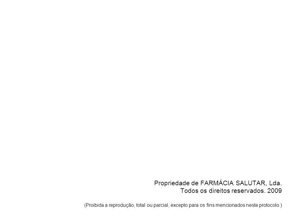 Propriedade de FARMÁCIA SALUTAR, Lda. Todos os direitos reservados