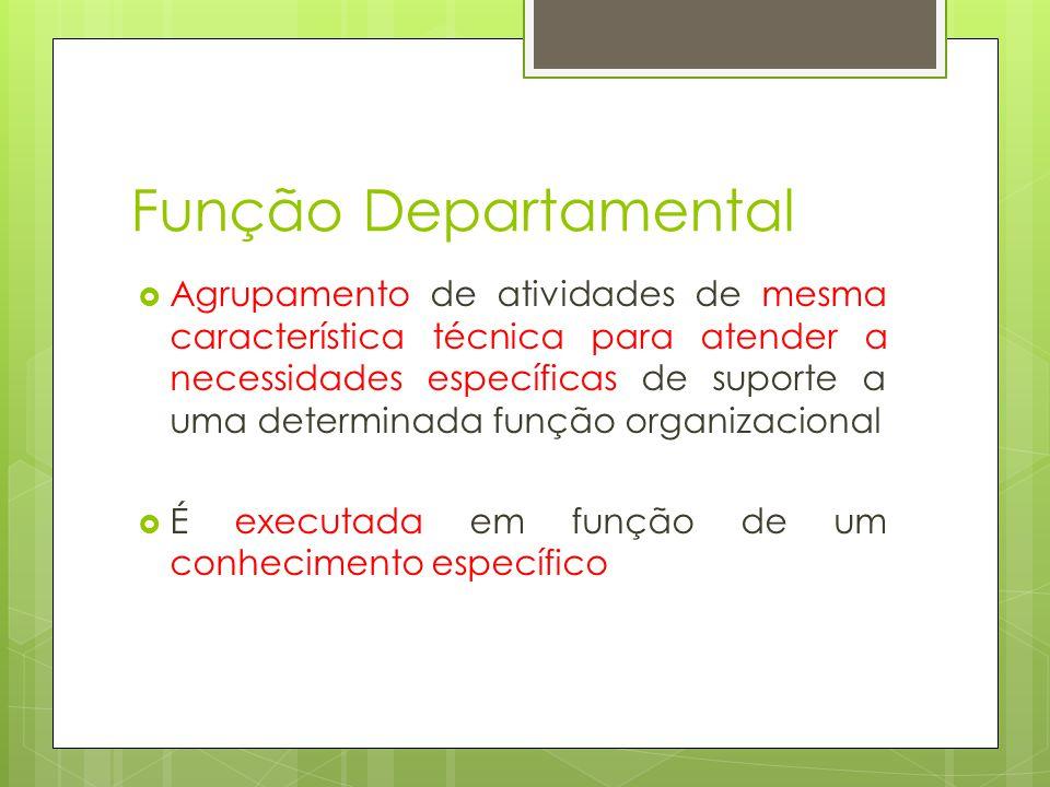 Função Departamental