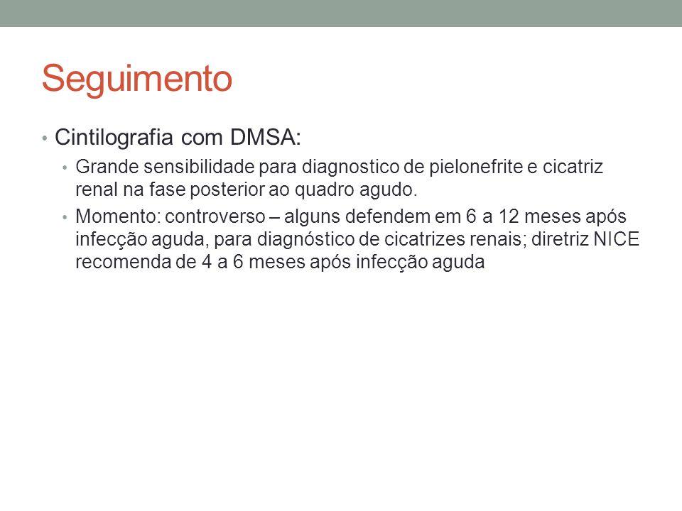 Seguimento Cintilografia com DMSA: