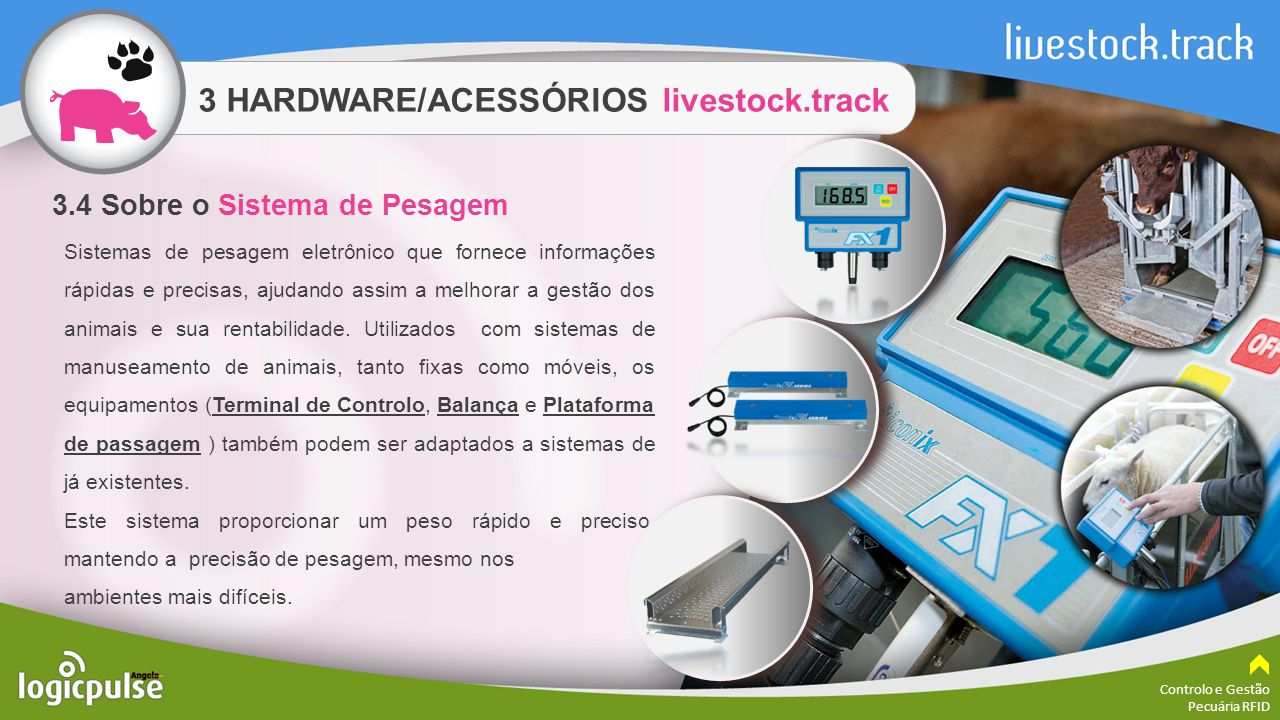 3 HARDWARE/ACESSÓRIOS livestock.track