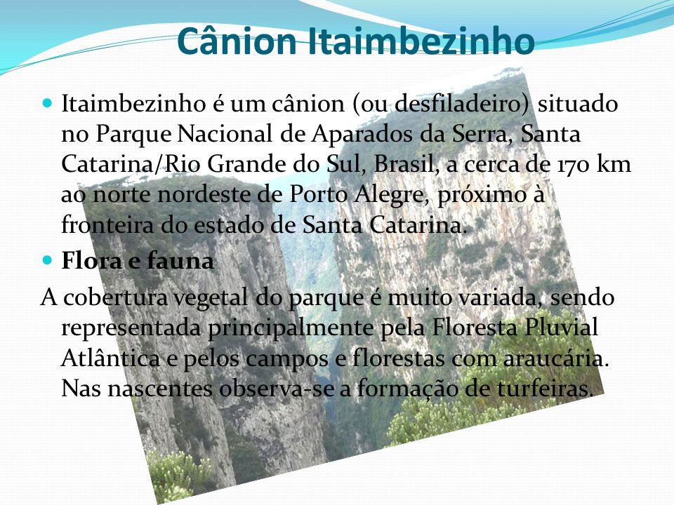 Cânion Itaimbezinho