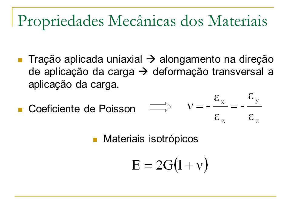 Materiais isotrópicos