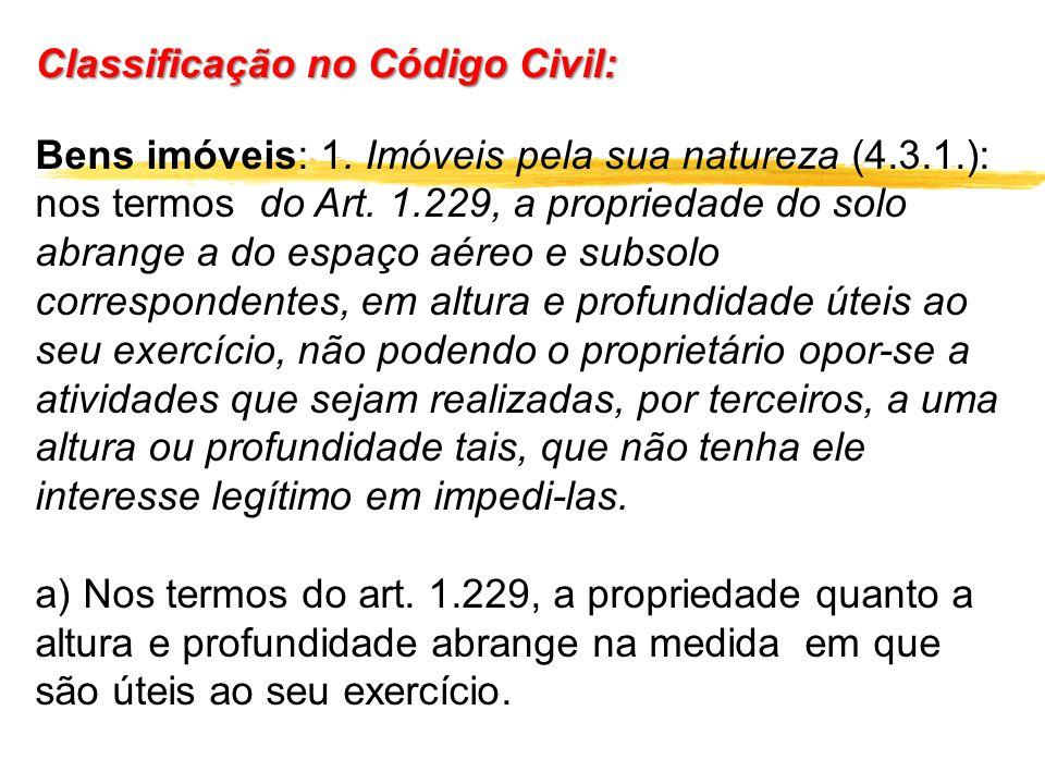 Classificação no Código Civil: