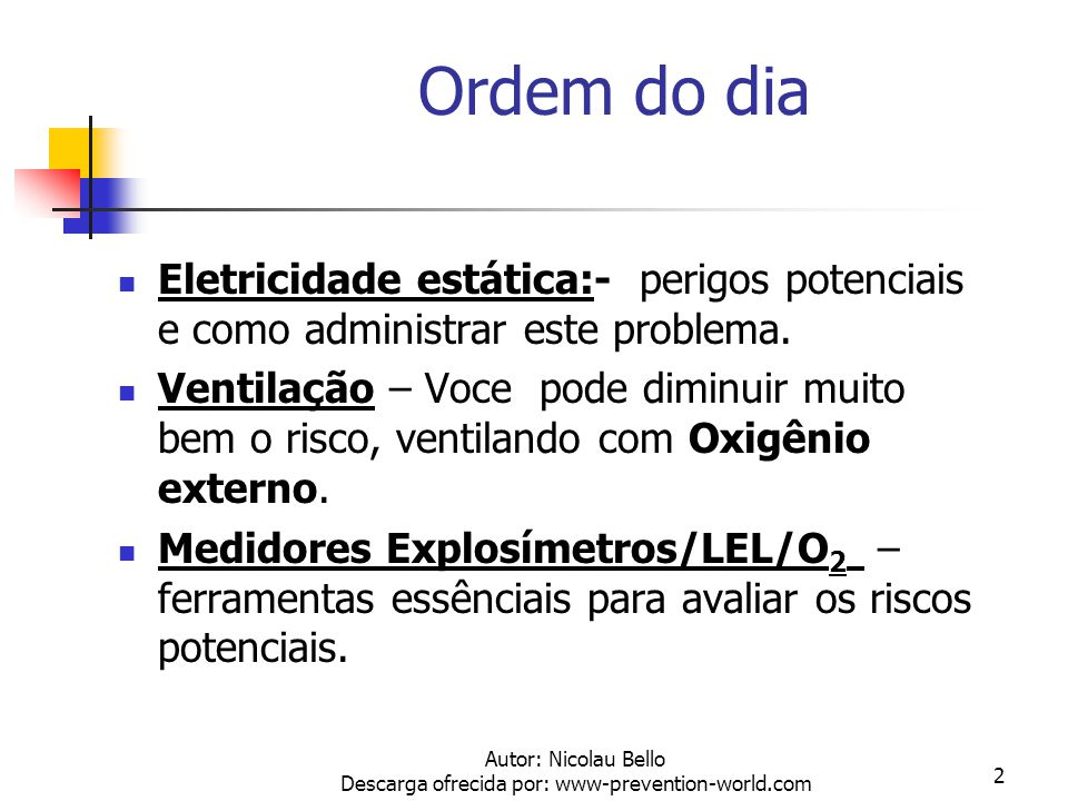 Autor: Nicolau Bello Descarga ofrecida por: www-prevention-world.com