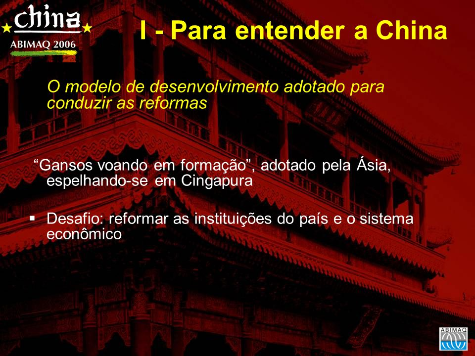 I - Para entender a China