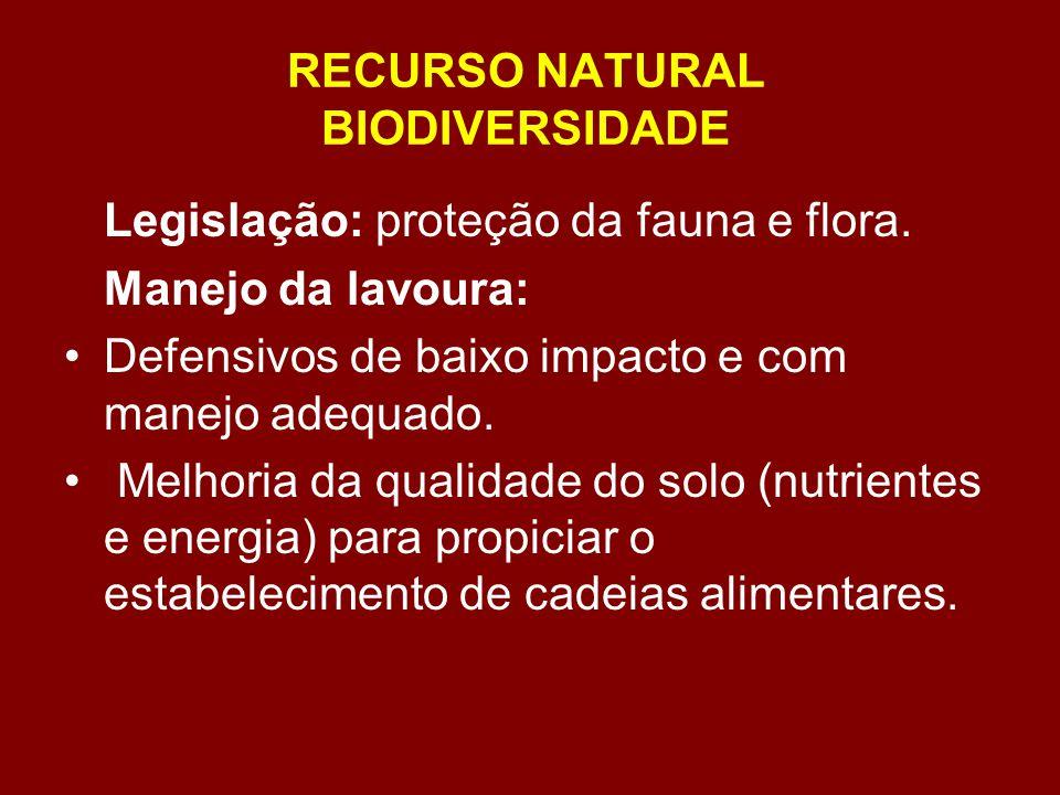 RECURSO NATURAL BIODIVERSIDADE