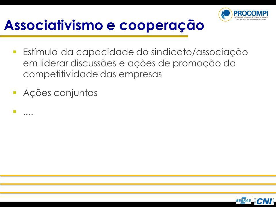 Associativismo e cooperação