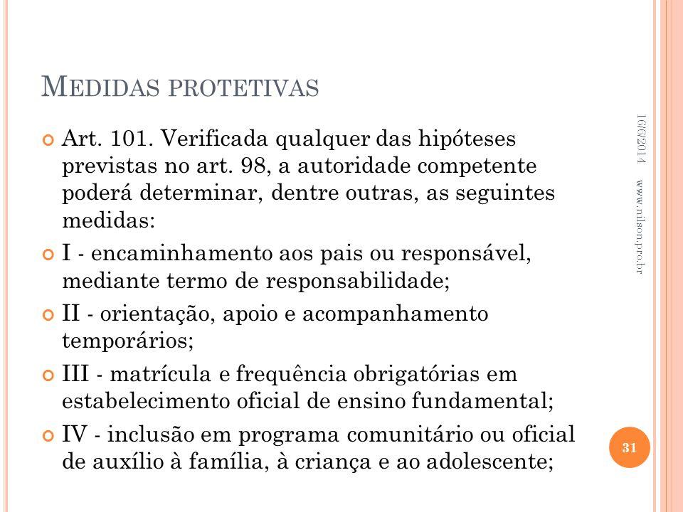 Medidas protetivas 02/04/2017.